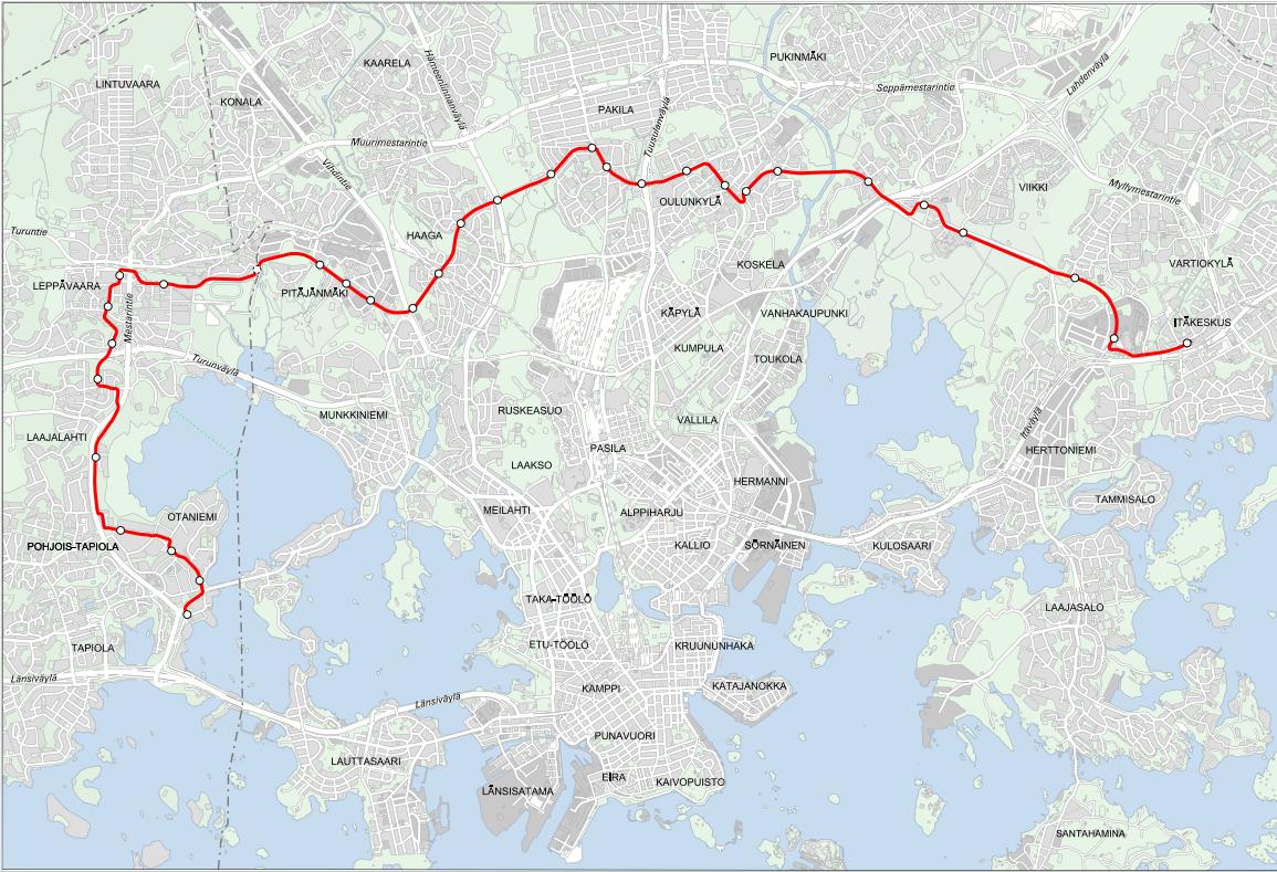 Pasila Metro