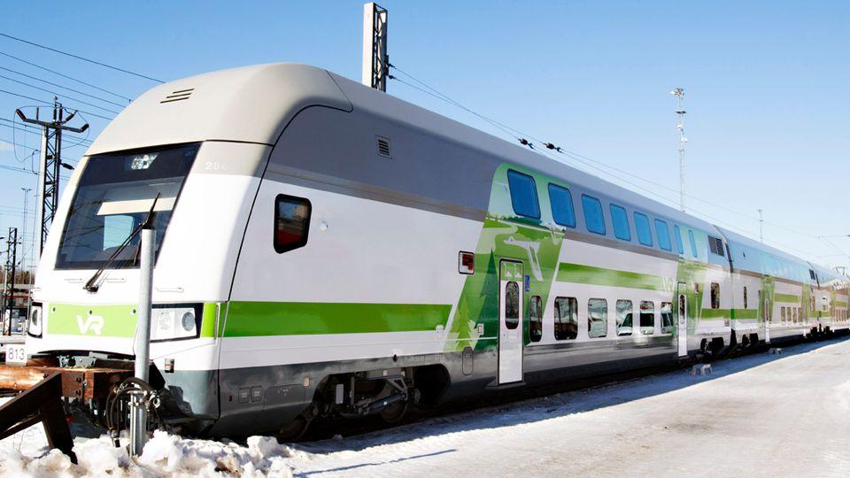 ohjausvaunu juna vr huhtikuu 2013